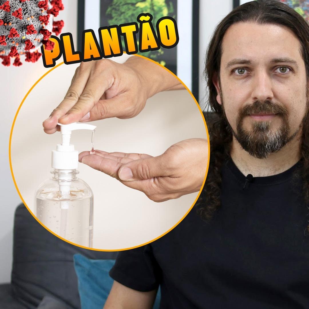 Álcool Gel + Vacina + Filme Contágio + Nasa + Outras Notícias = Plantão