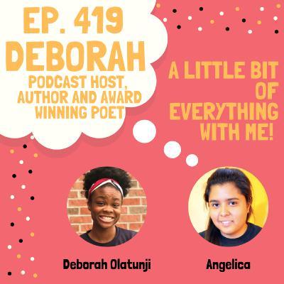 Deborah Olatunji - Podcast Host, Author and Award Winning Poet