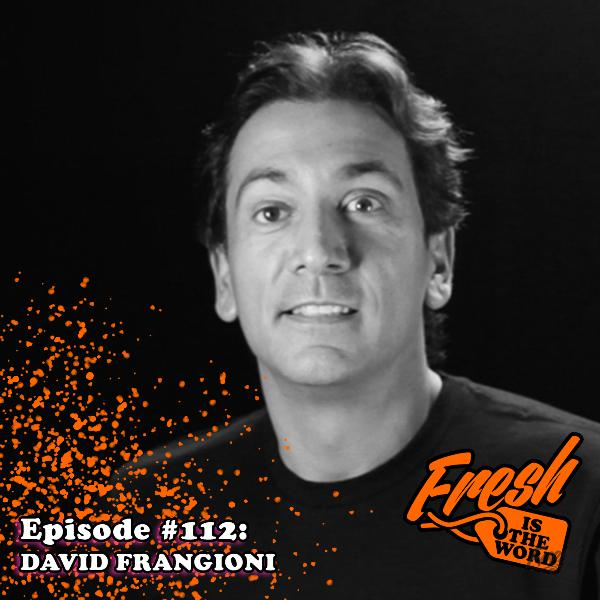 Episode #112: David Frangioni - Drummer, Collector, Technologist, Sound authority, and Author of 'Cr