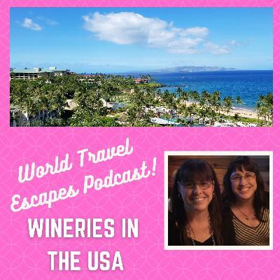 Wineries Around United States