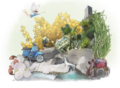 Fées, jardins et autres merveilles : voyage à Roquebrun