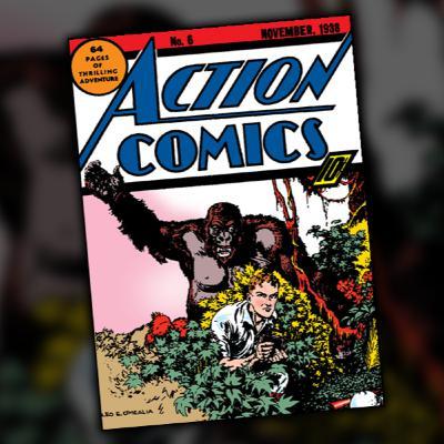 Action Comics #6 (November, 1938)