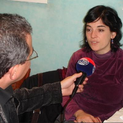 Programa Voces: Georgina Hassam - Disco Primera Luna (Julio de 2007)