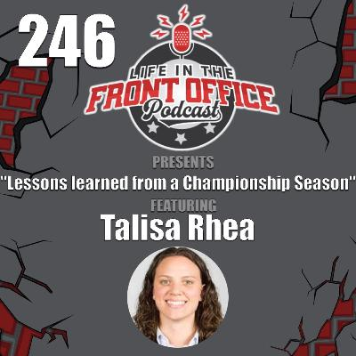 Lessons Learned from a Championship Season with Talisa Rhea, Assistant GM of the Seattle Storm