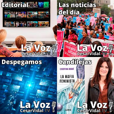 Programa Completo de La Voz de César Vidal - 16/07/21