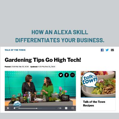 Podcast Episoode 287: How An Alexa Skill Differentiates Your Business