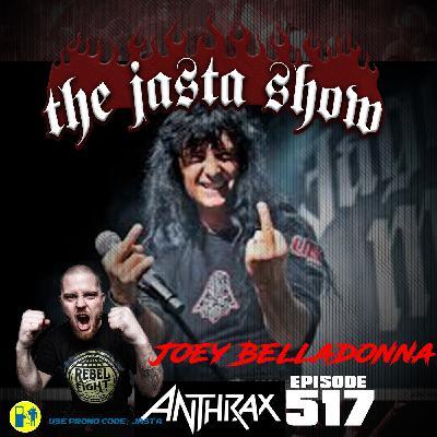 Episode #517 - Joey Belladonna (Anthrax)