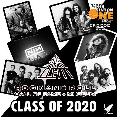 The Earth Station One Podcast – The Rock N' Roll Hall of Fame Class of 2020