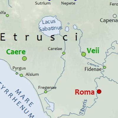 009- Roma O Güne Kadarki En Büyük Rakibi Veii'yi Yutuyor