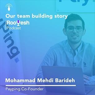 محمدمهدی باریده - استارتاپ پی پینگ