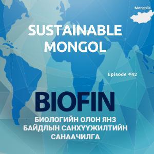 42: Биологийн олон янз байдлын санхүүжилт, НҮБ-ын Хөгжлийн хөтөлбөрийн БИОФИН төслийн үндэсний тэргүүн зөвлөх Б.Чимэд-Очир