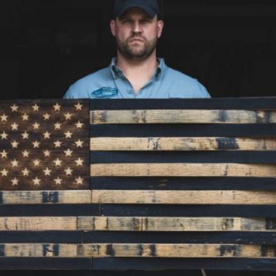 Meet Chris Cruise: The veteran who turns bourbon barrels into American pride