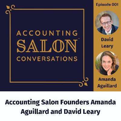 Accounting Salon Founders Amanda Aguillard and David Leary