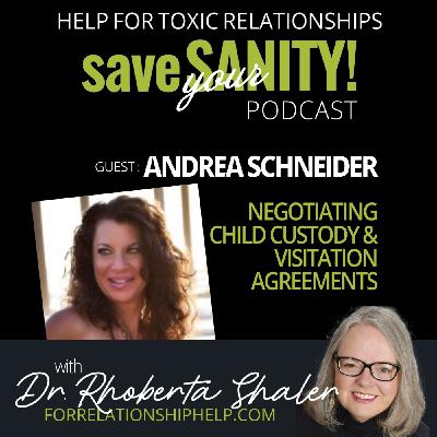 Tips on Negotiating Child Custody and Visitation   GUEST: Andrea Schneider, Attorney