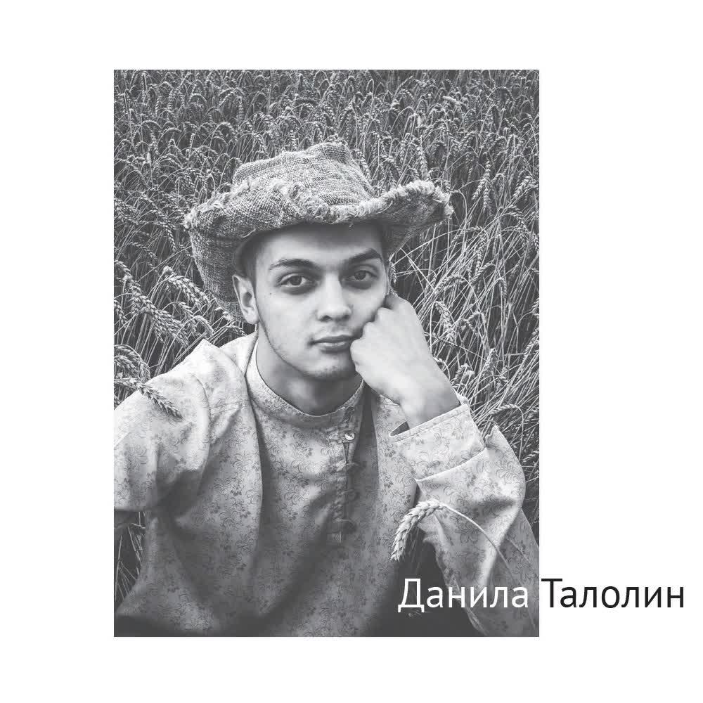 Данила Талолин. Стихи