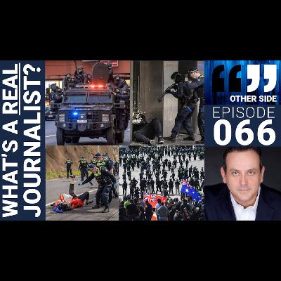 The Other Side with Damian Coory Episode 66: What is a REAL Journalist?