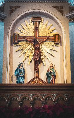 Reflections from Msgr. Lavalley 6: The Third Word of Christ from the Cross