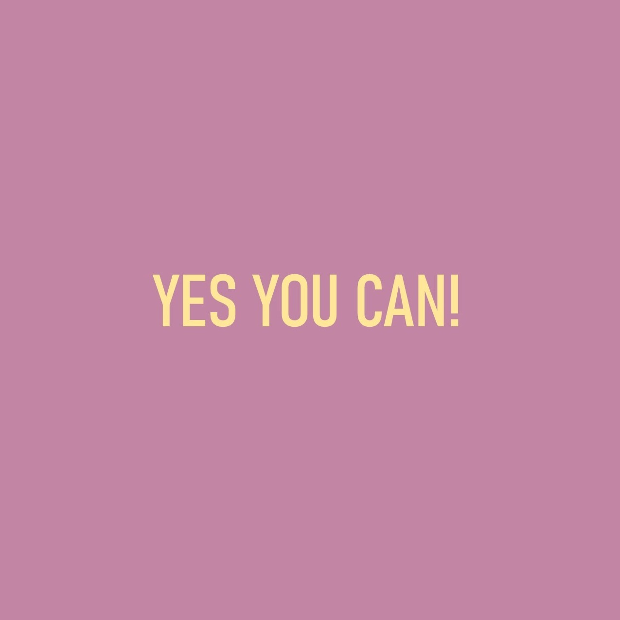 Episode 37 - Yes You Can
