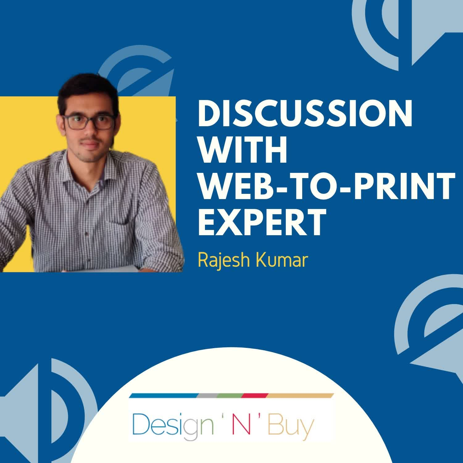 Discussion on Printing Industry Trends after Covid19 with WebtoPrint expert