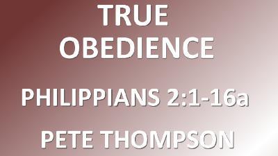 True Obedience