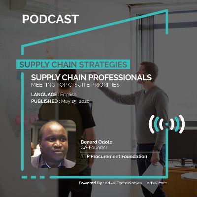 74. Supply chain professionals meeting top C-suite priorities