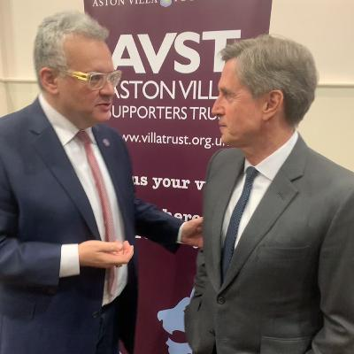 The Villa Trust 2020 AGM: Purslow speaks