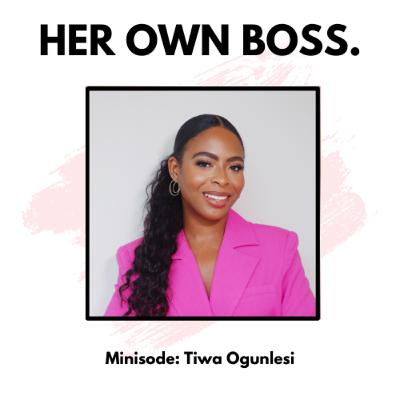 Minisode: How to build happiness for yourself with Tiwa Ogunlesi