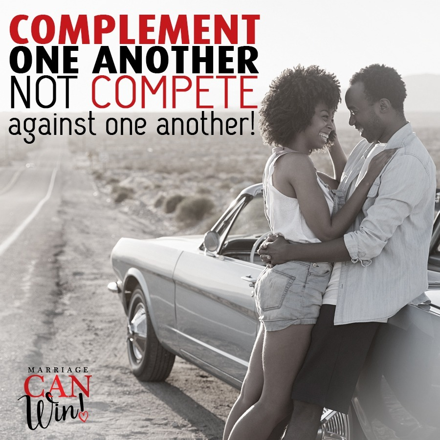 Complementing vs. Competing! Don't Ruin the mood! You might get lucky!!!!