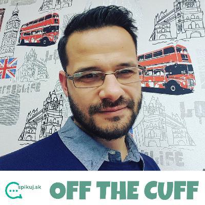 OFF THE CUFF ep.04 - TOP 5 mobilných aplikácií pre učenie sa angličtiny