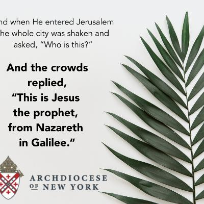 Misa/Mass Palm Sunday