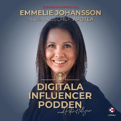Apotea om nätapotekens roll i en pandemi | Emmelie Johansson, marknadschef på Apotea (Coronaspecial)