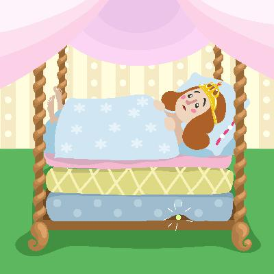 Discover How to Prove You're a Princess in this fun Fairytale - Storytelling Podcast for Kids - The Princess and the Pea:E104