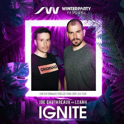 IGNITE . WINTER PARTY 2020 : Joe Gauthreaux & Leanh : Live Performance Promo Set