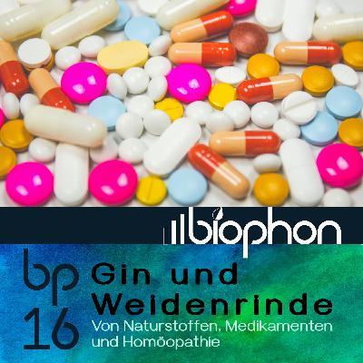 bp16: Gin und Weidenrinde - Von Naturstoffen, Medikamenten und Homöopathie