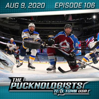 The Pucknologists 106 - Round 0 Results, Round 1 Predictions, Hertl Skates, Fanatics Scams