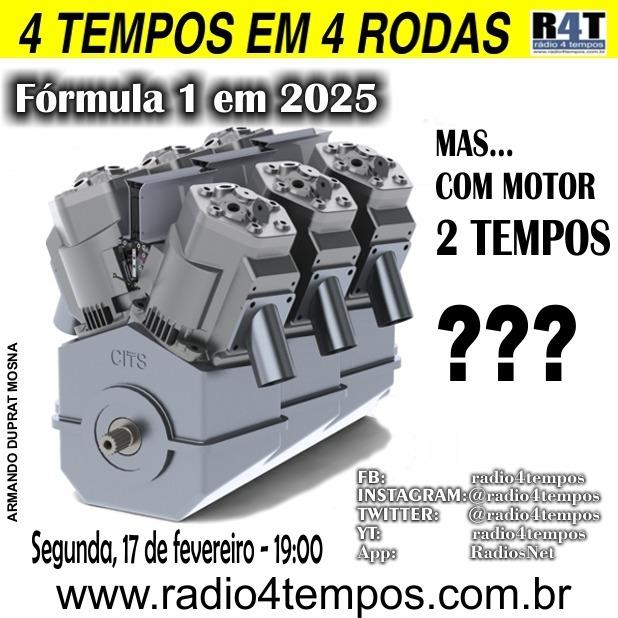 Rádio 4 Tempos - 4 Tempos em 4 Rodas 31:Rádio 4 Tempos