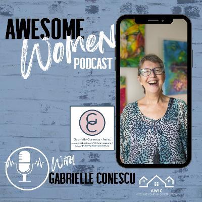 Gabrielle Conescu - Artist, Art Intuitive, Coach and Speaker.