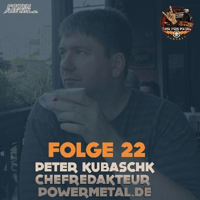 Folge 22 - Peter Kubaschk (Chefredakteur bei Powermetal.de) im Interview über Magazine und ist Metal Pop-Kultur?
