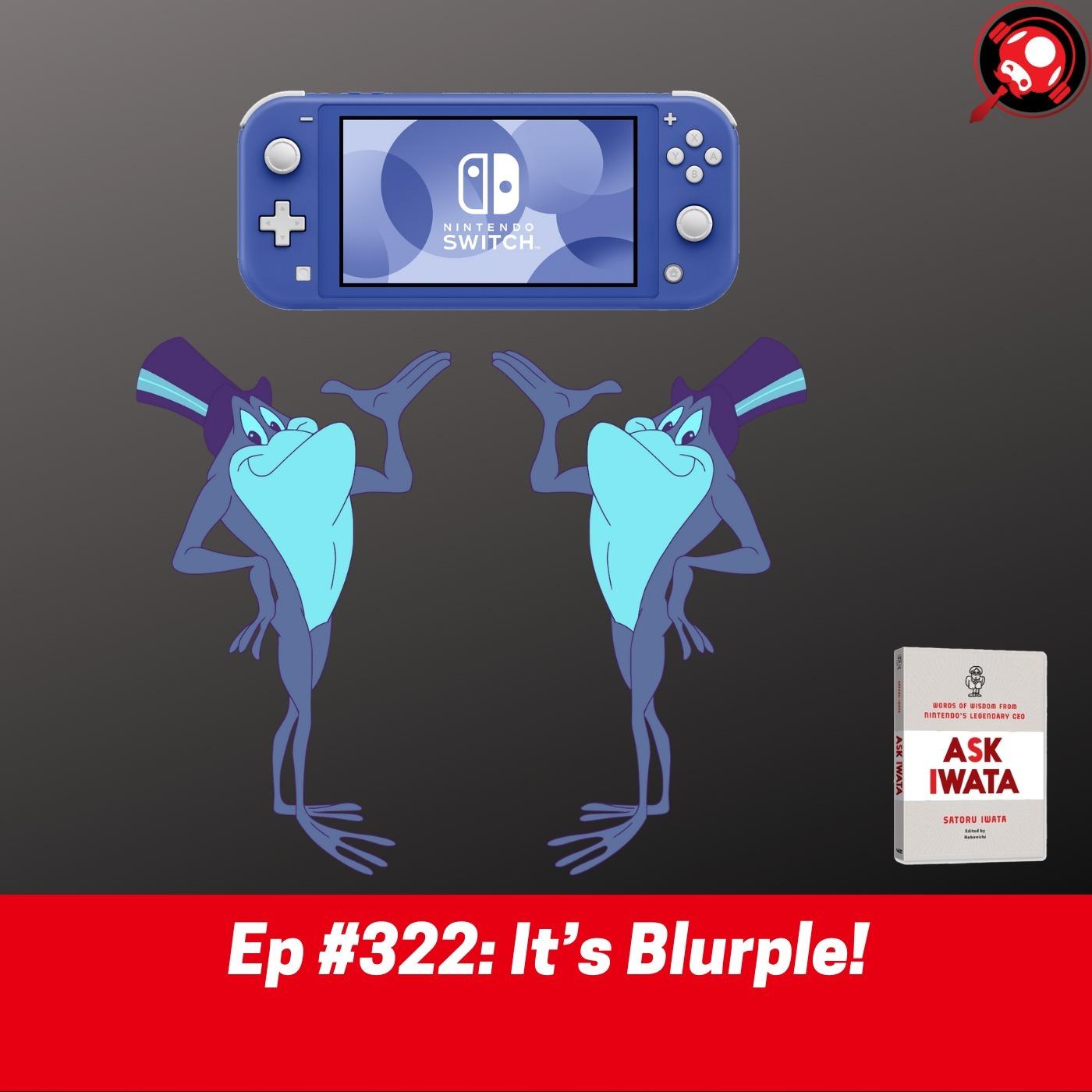 #322: It's Blurple!
