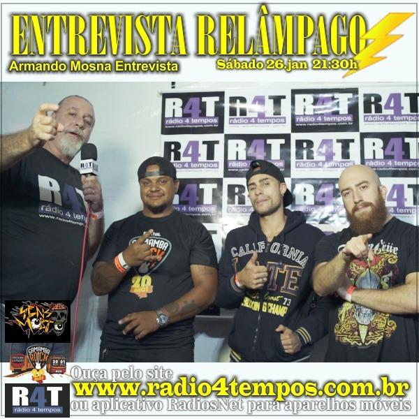 Rádio 4 Tempos - Entrevista Relâmpago 47
