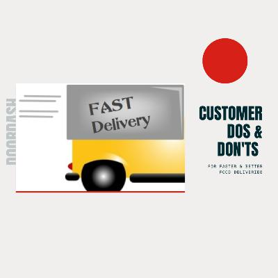 653. CUSTOMER DOs & Don'ts for FASTER & BETTER Food Deliveries | Andy Noise Experience