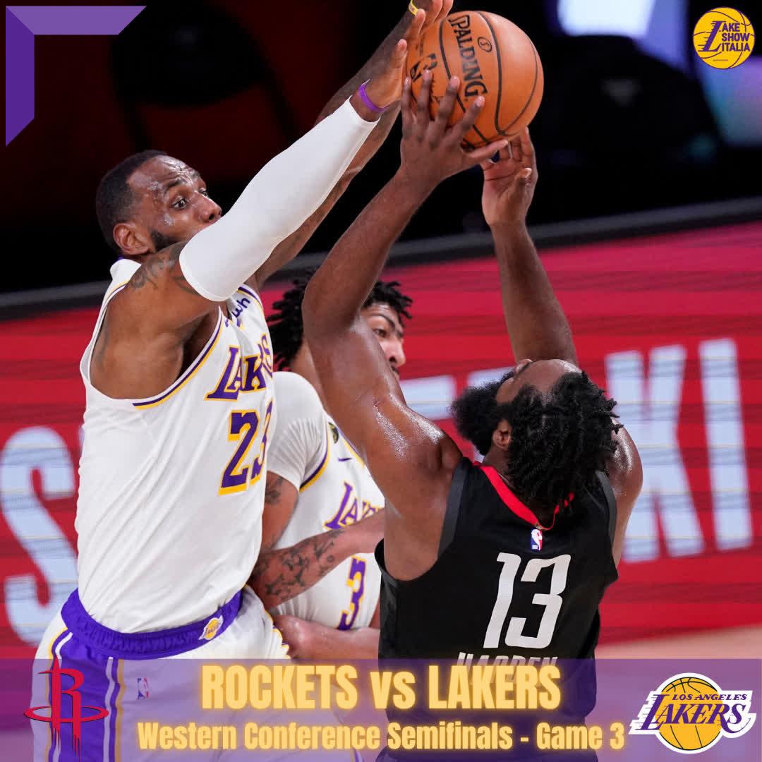 Lakers-Rockets: raddoppi su Harden e zona, la strategia di Vogel in Gara 3