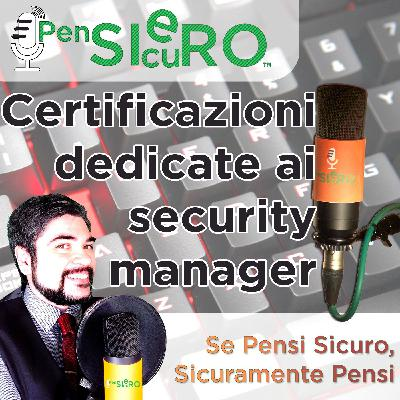 #223 - Certificazioni per Security Manager