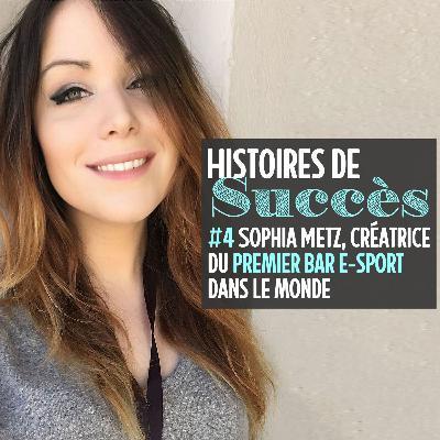 Sophia Metz a fondé le Meltdown, le premier bar e-sport au monde