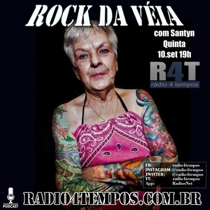 Rádio 4 Tempos - Rock da Véia 85:Rádio 4 Tempos