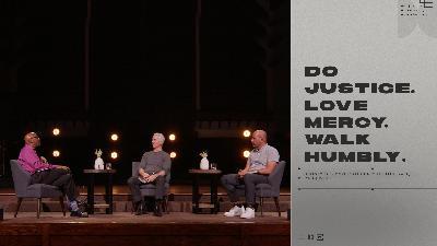 A Pastoral Conversation About Faith, Race, and Justice   John Ortberg, Hurmon Hamilton & Gary Gaddini