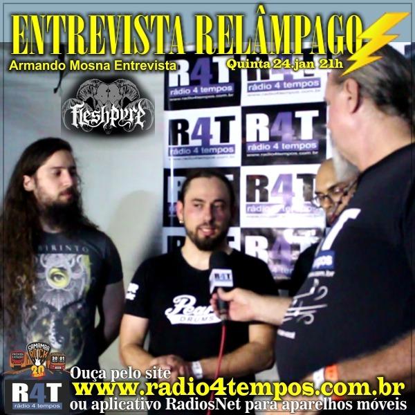 Rádio 4 Tempos - Entrevista Relâmpago 44