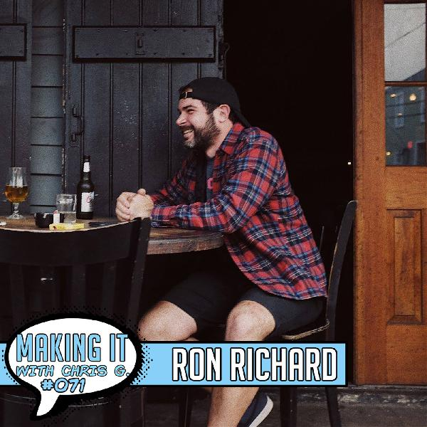 #071: Ron Richard - Owner of SimplePlay Presents and Talent Buyer at One Eyed Jacks in New Orleans - Artist Development Strategies from Years of Booking and Promoting Live Music