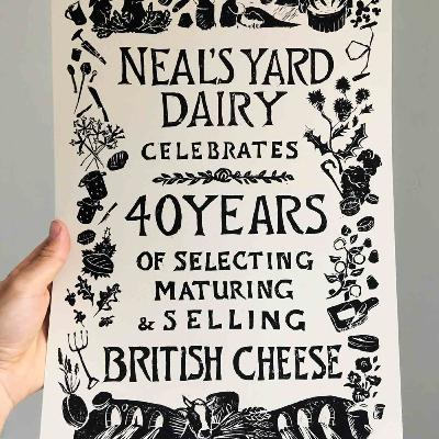 Episode 392: Happy 40th, Neals Yard Dairy!