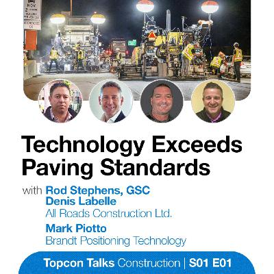 Technology Exceeds Paving Standards | S01E01